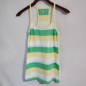American Eagle Outfitters Striped Racerback Tank